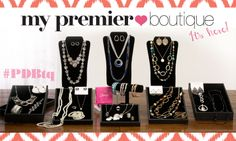 What's not to <3 <3!!! The NEW Premier Designs Boutique available for any new jeweler!! Comes with everything you need!