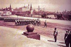 Москва,1912, открытие памятника Александру 3 и парад войск у стен ХС, ки...