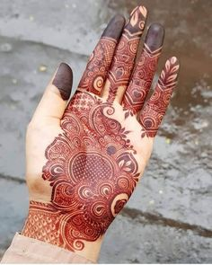 Henna Tattoo Designs Simple, Finger Henna Designs, Back Hand Mehndi Designs, Latest Bridal Mehndi Designs, Henna Art Designs, Mehndi Designs For Beginners, Mehndi Designs For Girls, Mehndi Design Photos, Unique Mehndi Designs