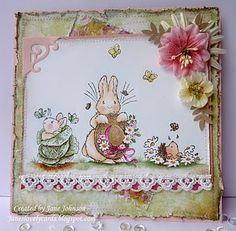 Penny Black Clear Stamps Garden Friends
