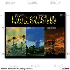 Kansas Photos Post Card