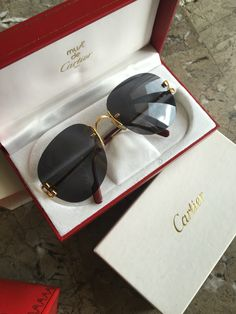 255685d6d32 Lenses · Eyeglasses · Glasses · Must de  Cartier Occhiali C Decor Portofino  serie limitata 1986  goldplated  goldframe