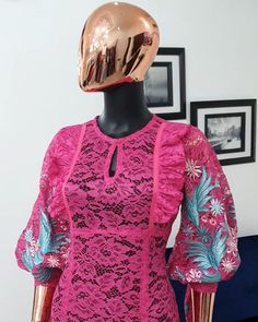 African Wear Dresses, Latest African Fashion Dresses, African Print Fashion, African Attire, Lace Blouse Styles, Lace Gown Styles, African Lace Styles, Ankara Styles For Women, Elegant Outfit
