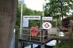 Anleger Ernst August Kanal, Wilhelmsburg - Foto Birgit Puck