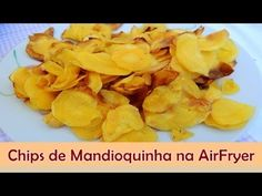 Este chips de mandioquinha é super simples e foi feito na AirFryer. Para ver o post com a minha opinião é só clicar em: http://www.sabornoprato.com/2014/07/c...