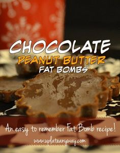"""There's something so delicate sounding about the words """"Fat Bomb.""""  Ok, no there isn't. You'll start to notice a theme with my recipes about how I tr…"""
