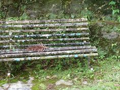old park bench - Google Search