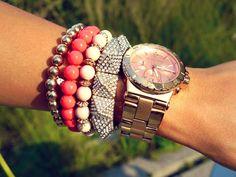 Watch and bracelets!!!!