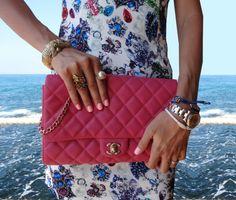 Jewel Dress    #Jewels   #Print #Dress   #Chanel   #Pink #Clutch #Versace  #Sunglasses   #Beirut   #Lebanon   #Sun   #Sea   #Blue #Heels   #Rings  #Pearl   #flowers   #Lovebyn   #fashion   #style   #stylish   #Glam   #Oatd   #swag  #outfit   #fashinoista   #fashionblog   #fashionblogger   #diva    #fblogger   #fbloggers