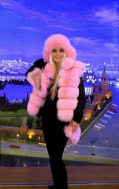 Pretty in Pink Snow Bunny
