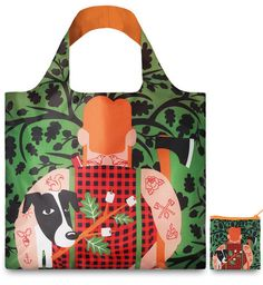Lumber Jack <br>by Cristina Caramida<br>Tote Bag<br><br>COOL PEOPLE Collection