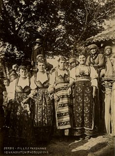 Once Upon a Time There Were Young Serbian Peasant Girls