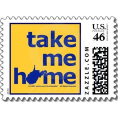 West Virginia Take Me Home Postage