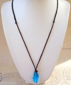 I found 'H20 Just Add Water Mermaid Style Blue Crystal Necklace Charm Pendant Xmas H2O' on Wish, check it out!
