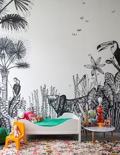 Wall decor ideas: murals