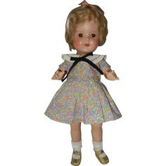 1930's 17' Arranbee Composition Nancy Doll