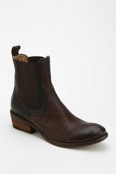 Classic Chelsea ankle boot from Frye in soft, rich leather -- perfect. #urbanoutfitters