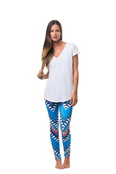 Tulum | Flex Legging – The Jiva Shop.  #yoga #barre