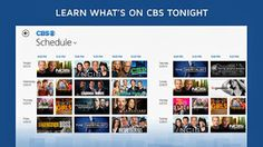 CBS launches Windows 8 and RT app.