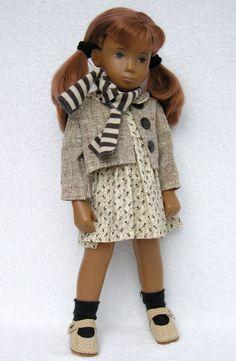 Sasha Doll, Doll Dresses, Vintage Dolls, Art Dolls, Doll Clothes, Childhood, Sewing, Toys, Friends