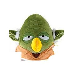 PELUCHE ANGRY BIRDS: STAR WARS YODA 13 CMS