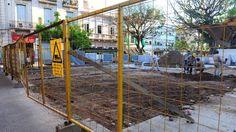 La economía de la Ciudad Pasa por primera vez desde que se crearon, en 1996. Los trabajos, que se hacen también en bulevares y plazoletas, se acuerdan con el Ejecutivo.  #BibliotecaCPAU #DSI #Ciudad #BuenosAires #CABA