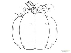draw a pumpkin beautiful paintingshalloween decorationsto - How To Draw Halloween Decorations