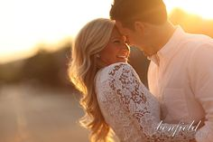 Benfield Photography Blog: More Benny Backlight Engagement Portraits of Kirsten and Jordan