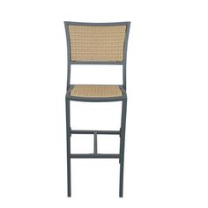 Source Contract Bristol Patio Bar Stool with Cushion Seat Color: Wheat Outdoor Bar Stools, 26 Bar Stools, Swivel Bar Stools, Outdoor Chairs, Outdoor Furniture, Outdoor Decor, Patio Rocking Chairs, Patio Chairs, Cushion Source