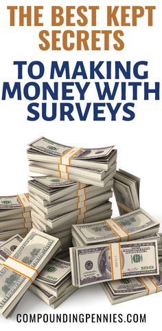 How To Get Paid To Take Surveys | Do you want to make money on the side by taking surveys? Not sure what the best survey sites are? Click through to learn how to make $1,000 a year taking paid surveys by using the best survey sites! #MakeMoney #MakeMoneyOnline #PersonalFinance