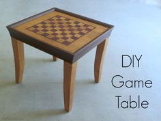 diy game table wood staining, how to, painted furniture, repurposing upcycling