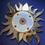 Mozaïek Lamp gemaakt door Jera