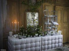 Decoration Buffet Buffet, Table Decorations, Wedding, Furniture, Home Decor, Floral, Rural Area, Casamento, Homemade Home Decor