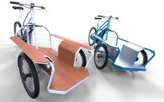 Checkout this modular electric cargo bike design that can be: a normal electric bike, an electric cargo bike, or an electric cargo trike!