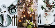 From whimsical to rustic to kitsch and cute, we bring you everything from table runners and name settings to gilded leaves and pumpkin centrepieces, guaranteed to add a decorative touch to your seasonal table plan. Feast your eyes on these gorgeous table decorations that beautifully mirror the bounties of the season.