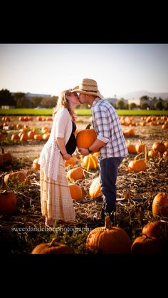 Maternity photography fall pumpkin patch