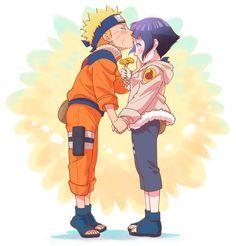 Naruto x Hinata - NaruHina Anime Naruto, Naruto Comic, Naruto Shippuden Sasuke, Naruto Kakashi, Naruto Fan Art, Naruto Cute, Otaku Anime, Manga Anime, Hinata Hyuga