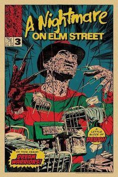 Comics Vintage, Vintage Cartoon, Classic Horror Movies, Iconic Movies, Cult Movies, Comedy Movies, Films, Horror Comics, Horror Art