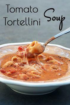 Carrie\\\'s Tomato Tortellini Soup on MyRecipeMagic.com