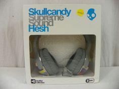 New Skullcandy Hesh 2.0 Mic'd Headphones Grey Gridlock