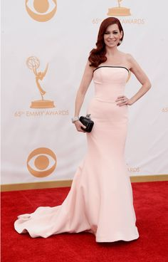 Carrie Preston - 2013 Emmys Red Carpet