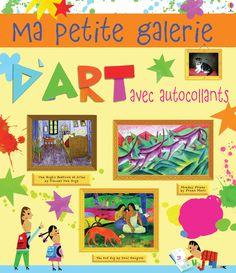 Ma petite galerie d'art en autocollants de Joséphine Thompson et Carles Ballesteros (traduit par Véronique Duran) Usborne