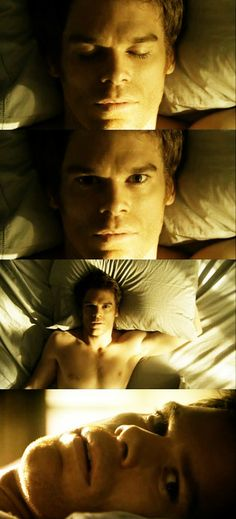 Michael C. Hall - it's the voice.