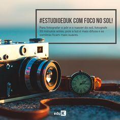 Dicas de fotografia são sempre muito importantes, principalmente para quem está começando no ramo. Agora você já sabe como fotografar no sol! Acesse os cursos eduK de fotografia para mais dicas!