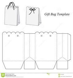 Interesting Gift Bag Template - Download From Over 52 Million High Quality Stock Photos, Images, Vectors. Sign up for FREE today. Image: 48154685