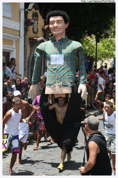 VII Corrida de Bonecos Gigantes - Carnaval 2012