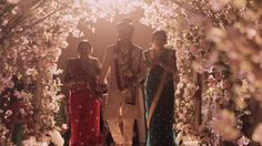 Platinum Indian wedding in Tampa, FL. Chandeliers by SignatureChandeliers.com #platinumwedding #indianwedding