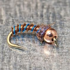 Biot Pupa. Fly Fish Food -- Fly Tying and Fly Fishing