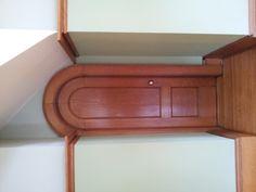 A quaint little door at the American Swedish Institute