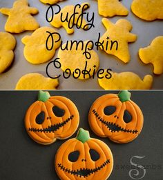 Have you ever gravitated towards a beautifully decorated cookie only to find the cookie to be dry, crumbly and tasteless? These puffy pumpkin cookies are here to ensure that never happens again. ...